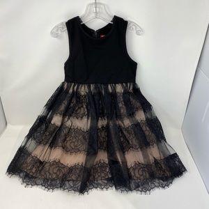 DERHY KIDS**Lace Party Dress**Size 4/6 & 6/8 $162